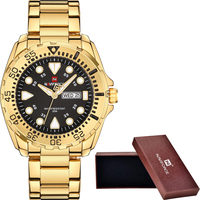 NAVIFORCE Watches Men Luxury Brand Sport Quartz Watches Men S Waterproof Military Clock Man Full Steel