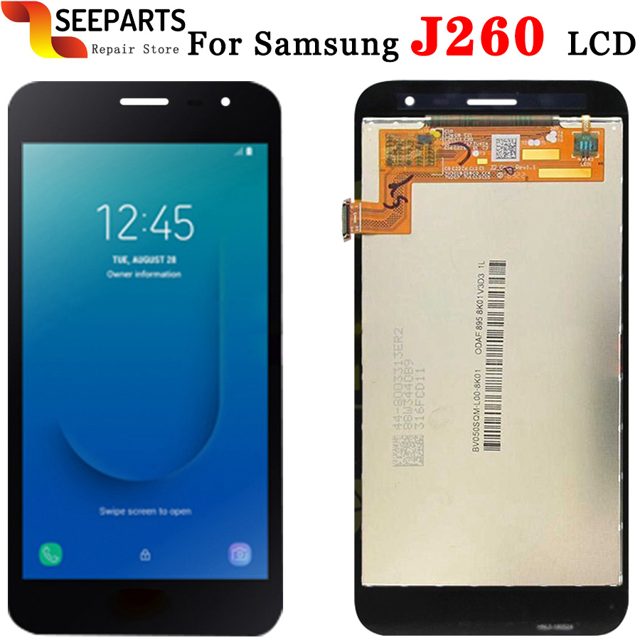 Original Tested For Samsung Galaxy J260 LCD J2 Core Display With Touch Screen Digitizer Assembly Replace For SAMSUNG J260 LCD image