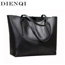 f733c2d63c DIENQI High Quality Big Capacity Genuine Leather Shoulder Bags for Women  2018 Luxury Fashion Ladies Handbags