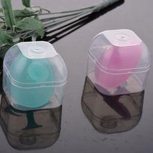 Детская Мягкая силиконовая щетка для купания и душа с коробкой для чистки лица