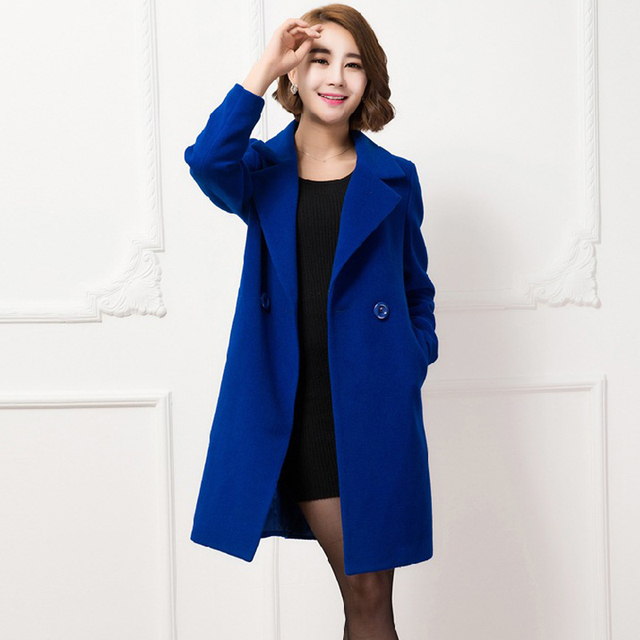 Winter Cashmere Coat Women Jacket Long Wool Coat Women Designer ...