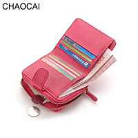 Fashion Women Short Wallets Genuine Leather Lady Coin Purse Girl Money Clips New Design 92