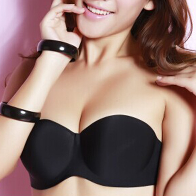 Aliexpress.com : Buy 1pcs Sexy Stick On Gel Silicone Backless Bra ...