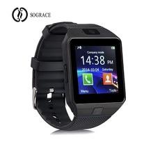 Купить с кэшбэком Sograce Android Bluetooth Smart Watch DZ09 Relogio Inteligente Support SIM TF Card Camera for IOS iPhone Samsung HUAWEI VS Y1 Q1