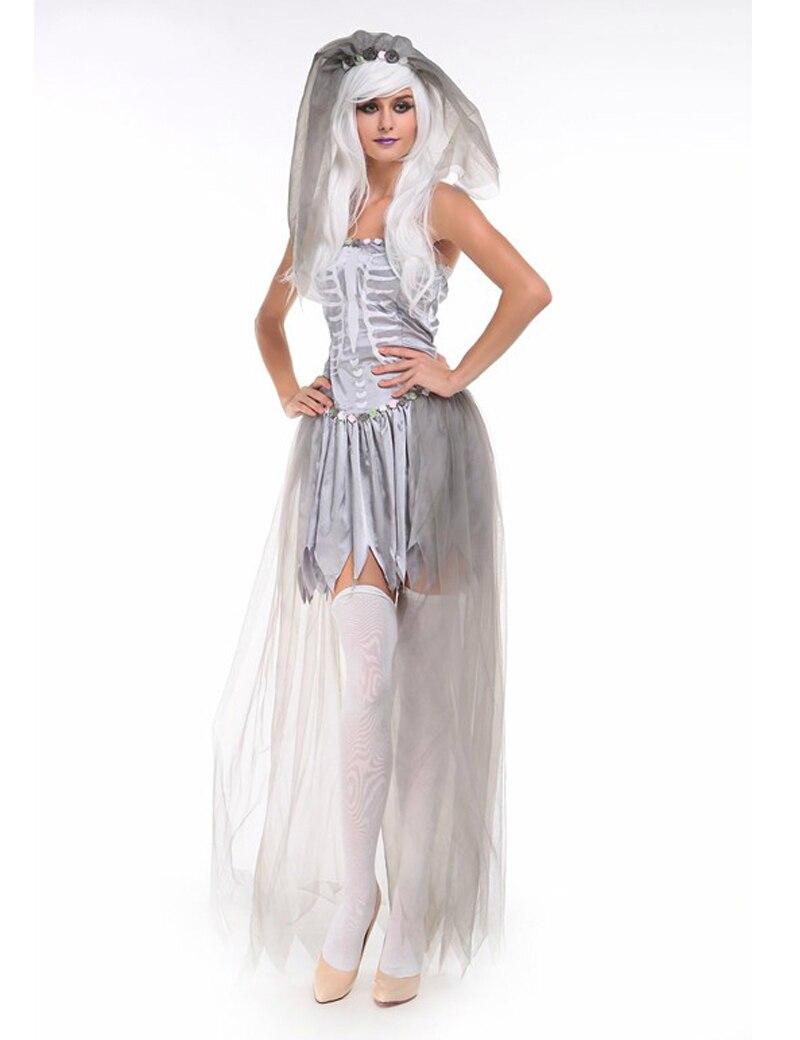 Online get cheap zombie wedding dress aliexpresscom for Wedding dress costume for adults