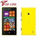 Desbloqueado lumia 525 original nokia lumia 525 mobile teléfono de windows dual core 4 ''ips 8 gb 5.0mp garantía de un año