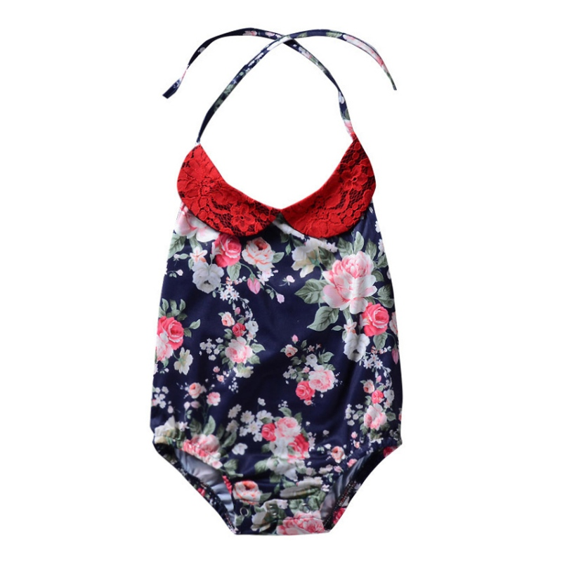 2018 Summer Hot Sale Baby Girls Cute Jumpsuit Infant Kids Printed Sleeveless Bodysuit New-arrival Fashion Clothing For 0-18M LQ