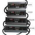 Светодиодный ультра-тонкий водонепроницаемый светодиодный индикатор питания IP67 DC12V трансформатор 60 W/100 W/120 W/150 W/200 W Светодиодный драйвер дл...