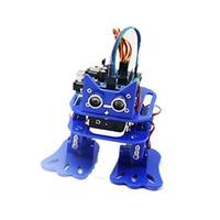 LOBOT DIY 4DOF Walking RC Robot Mixly Graphical Programming bluetooth Control Smart Mini Robot Toy Kid Gifts