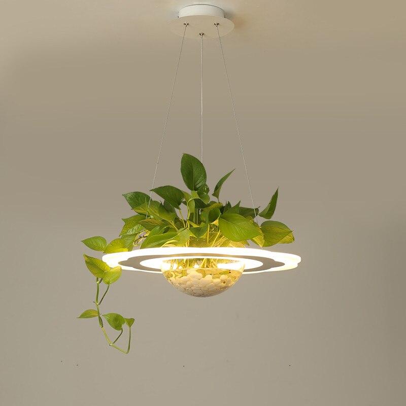 Современные светодиодные подвеска для кафе огни ресторан свет Подвесная лампа творческий зеленый брюки подвесные светильники дома подвес
