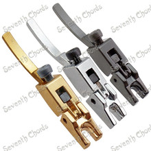 1 Pcs Vintage Tremolo Bridge Locked String Bridge Saddle for Electric Guitar Golden Black Chrome For choose
