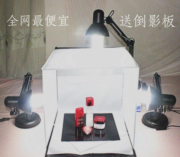 Luz foto Studier 40 cm pequeño conjunto de accesorios de la joyería de mini luz