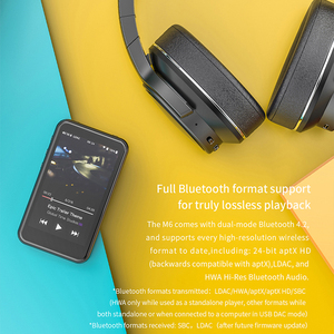 Image 5 - FiiO M6 Hi Res Bluetooth HiFi Music Portable MP3 Player USB DAC ES9018Q2C Based Android with aptX HD LDAC WiFi Air Play DSD