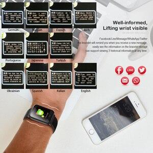 Image 2 - VERYFiTEK Q9 kan basıncı nabız monitörü akıllı saat IP67 su geçirmez spor spor izci izle erkekler kadınlar Smartwatch