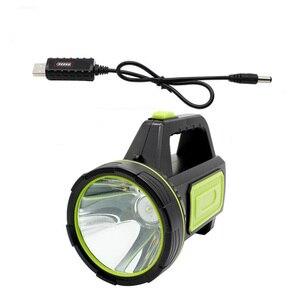 Image 3 - Lampe latérale lampe LED USB puissante rechargeable, lanterne à longue portée, lampe nocturne rechargeable, lampe de Camping pour les recherches