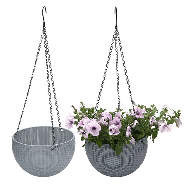T4U Self watering nordic Flower pot Hanging 2pcs/lot