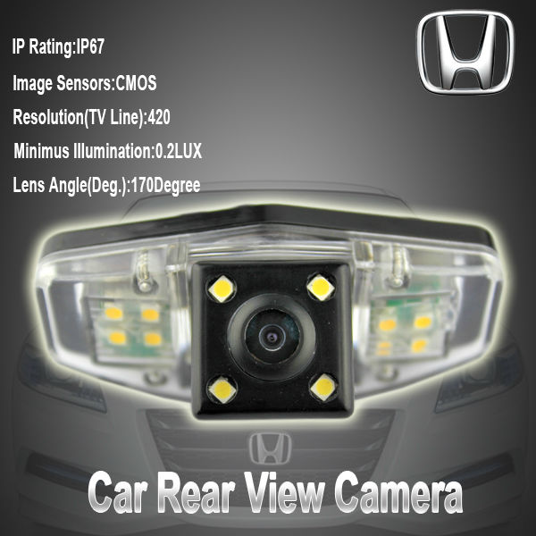 New Arrivals Promotion Car Backup Camera For Honda Accord / City /odyssey  2006 Night Vision