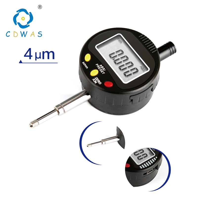 High Precision 0.001mm Digital Indicator Electronic Micrometer Digital 0-12.7mm Dial Indicator Gauge With Retail BoxHigh Precision 0.001mm Digital Indicator Electronic Micrometer Digital 0-12.7mm Dial Indicator Gauge With Retail Box