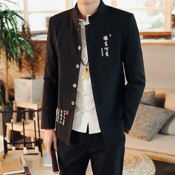 2019 Nuovi Uomini Di Colore Del Collare Del Basamento Abiti Ricamo Classico Mens Blazer Giacca E Lace-up Pantaloni Di Formato Asiatico 4XL Abiti Slim Fit Uomo