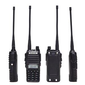 Image 2 - Baofeng UV 82 زائد 8 واط عالية الطاقة اسلكية تخاطب ثنائي النطاق VHF/UHF 10 كجم طويلة المدى UV82 اتجاهين هام CB راديو محمول الهواة
