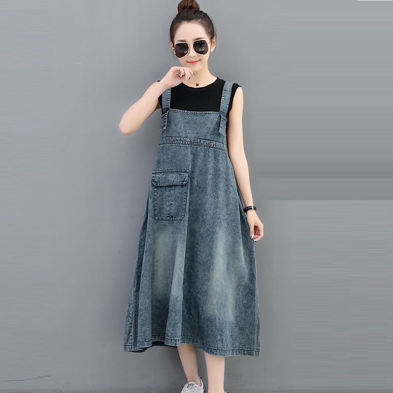 New womens dresses denim fabric suspenders dresses maternity clothing pregnancy dresses maternity clothing 1713