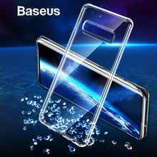 Baseus Phone Case For Samsung S10 Ultra Thin Transparent Clear Soft Silicone Case For Samsung Galaxy S10 S10 Plus S10+ Cover