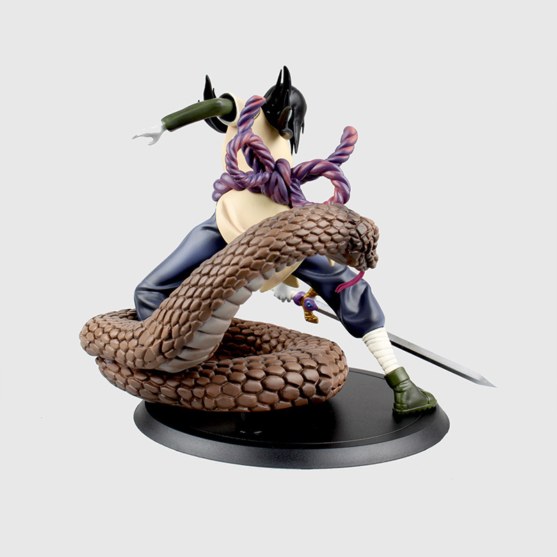 Orochimaru Action Figures with snake backview