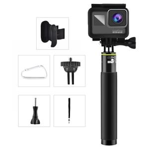 Image 4 - LBKAFA Palo de Selfie de 7,1 a 31,5 pulgadas trípode monopié impermeable, soporte portátil para Gopro Hero 8 7 6 5 SJCAM SJ4000 SJ5000 SJ6 DJI