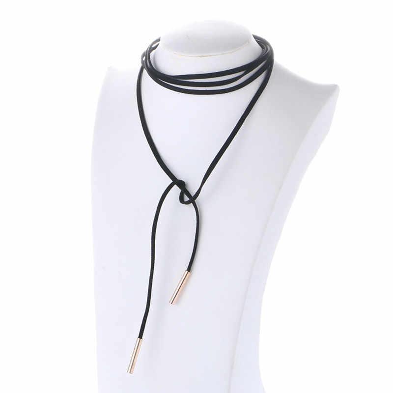 collier de cuir femme