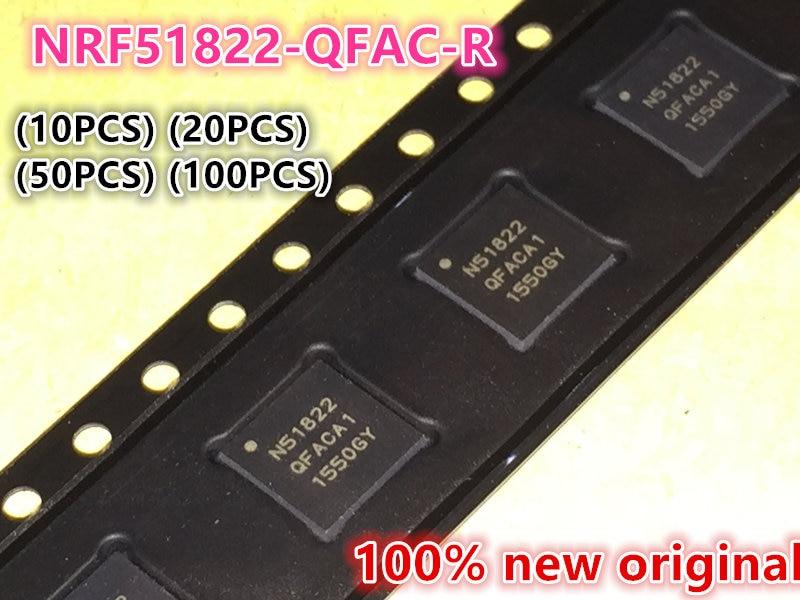 (10PCS) (20PCS) (50PCS) (100PCS) 100% New original N51822 NRF51822-QFAC-R QFN48 Bluetooth chip Low power RF chip IC 10pcs 20pcs 50pcs 100pcs 100% new original acs710tkla 25cb acs710t sop16 current sensor ic chip