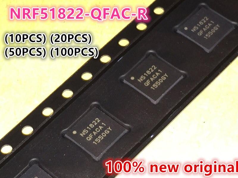 (10PCS) (20PCS) (50PCS) (100PCS) 100% New original N51822 NRF51822-QFAC-R QFN48 Bluetooth chip Low power RF chip IC 10pcs 20pcs 50pcs 100pcs 100%new original ad8066arz r7 ad8066arz sop8 8066ar operational amplifier chip