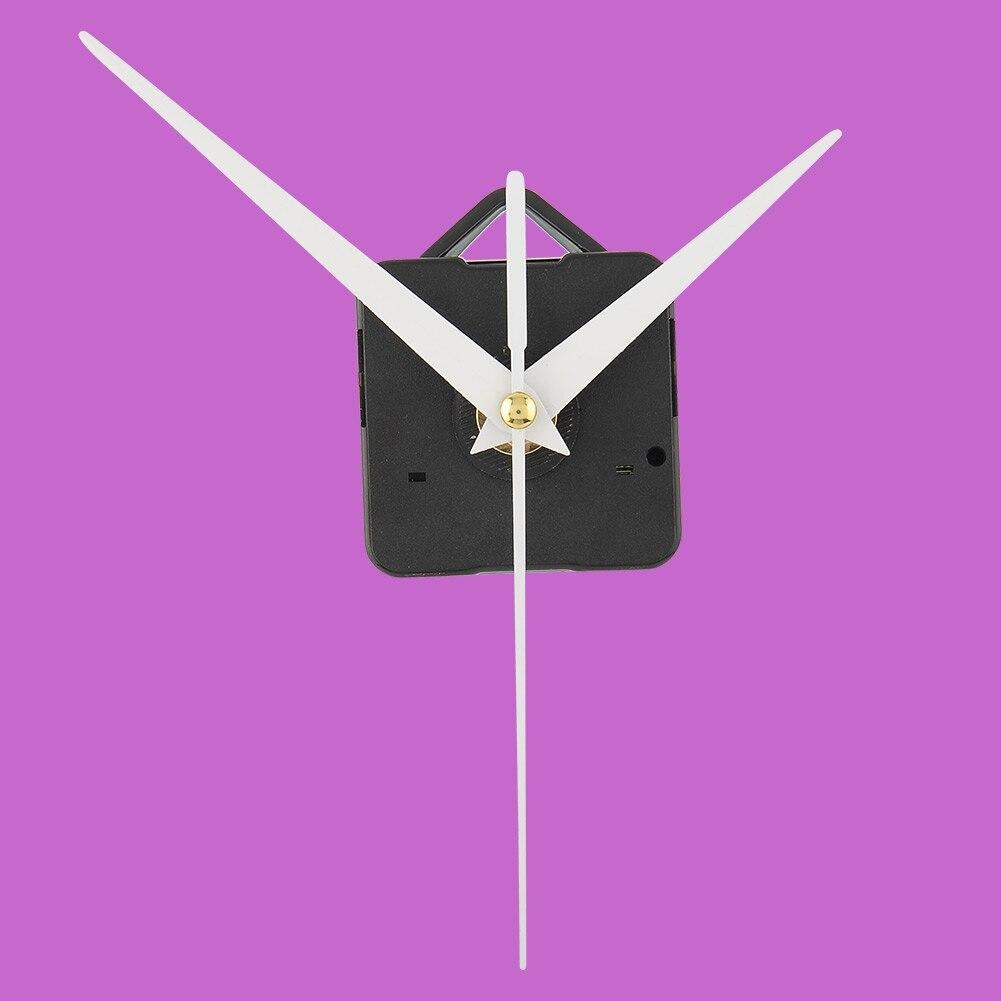 Dynamisch Hoge Kwaliteit Quartz Uurwerk Muur Bedroeg Mechanism Diy Reparatie Onderdelen & 3 Pcs Witte Handen Uur Minuut Tweede Gift