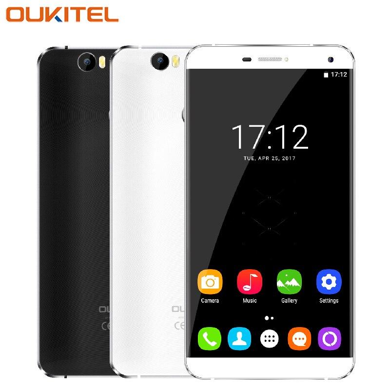 Original Oukitel U11 Plus Mobile Phone 5 7 Screen RAM 4GB ROM 64GB MTK6750T Octa Core