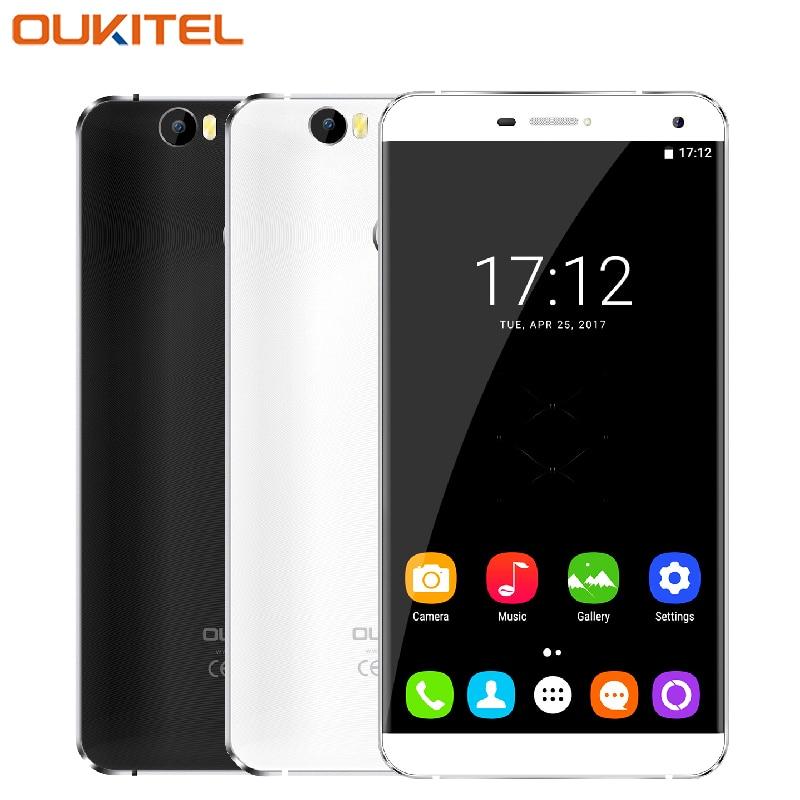 "Original Oukitel U11 Plus Mobile Phone 5.7"" Screen RAM 4GB ROM 64GB MTK6750T Octa Core Android 7.0 16.0MP Camera 4G Smartphone"