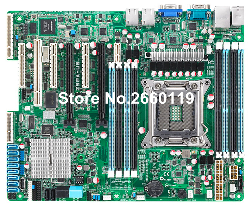 Server motherboard for Asus Z9PA-U8 LGA2011 system mainboard fully tested and perfect quality