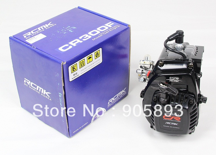 New Arrivals!!! RCMK  Engine - CR300B - Power 5.93Hp w/NGK sparkplug+ Walbro WT-1052 Carburetor and metal core pull starter aluminum water cool flange fits 26 29cc qj zenoah rcmk cy gas engine for rc boat