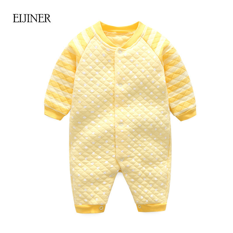 Baby Girl Romper Jumpsuit Winter 2017 Long Sleeve Baby Rompers Cotton Kids Clothing Toddler Baby boys Clothes Infants Jumpsuits newborn baby rompers baby clothing 100% cotton infant jumpsuit ropa bebe long sleeve girl boys rompers costumes baby romper