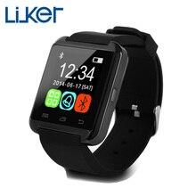 10 Teile/los Reloj Inteligente Neue Bluetooth Smart Uhr U8 Armbanduhr Für iPhone 4 S/5 S/6 Samsung S4/Hinweis 2/3 Android Smartwatch