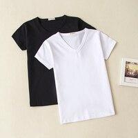 be525e4de7dc2a 2018 Sommerbabykleidung Baby Mädchen Jungen Baumwolle T-shirt V-ausschnitt  Short Sleeve Top T