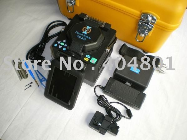Wholesaler, Free Shipping ! Optical Fiber Fusion Splicer machine-Fiber Fusion Splicing Machine