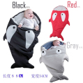 Retail Winter JiBaoBao Cartoon Shark Sleeping Bag Multifunctional Sleeping Bags