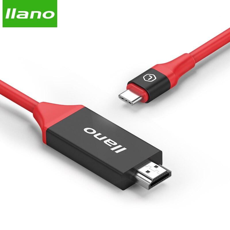 Agressief Llano 4 Ktype C Naar Hdmi 2.0 Video Converter 4 K 60hz Video Audio Kabels Openbare Type Usb-c M Adapter Voor Hdtv Projector Notebook Tv
