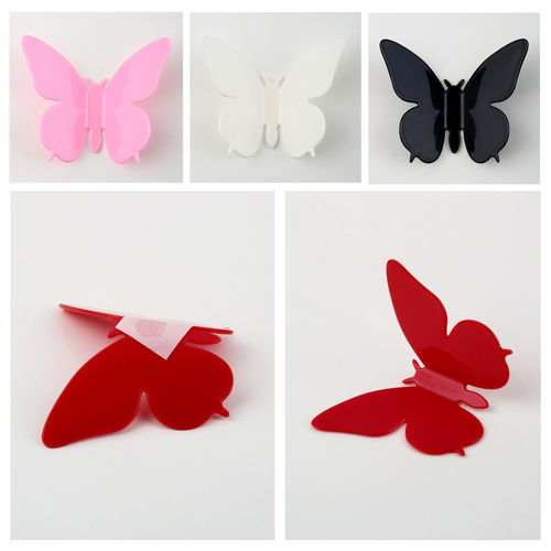 Online Shop Hotsale Fashion 3d Stereo Art Butterfly Wall Stickers