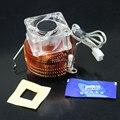 Ponte Norte Do Chipset PC Do Dissipador de Calor de Cobre Puro Northbridge Cooler Do Radiador Ventilador de Refrigeração 4020 40mm