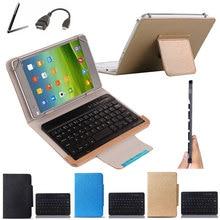 Wireless Bluetooth Keyboard Case For fujitsu STYLISTIC M532 10.1 inch Tablet Keyboard Language Layout Customize Stylus+OTG Cable
