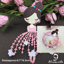 DIE CUT METAL CUTTING DIES cut dancing ballet girl doll Alinacraft Scrapbook paper craft album card punch knife art cutter die