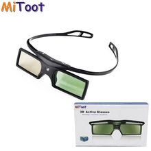 MiToot 2pcs G15-DLP 3D Active Shutter Glasses For Optoma LG Acer DLP-LINK DLP Link Projectors 96-144Hz