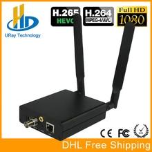 H.265 HEVC 3G HD SD SDI TO IP Video Streaming Encoder To Wowza, Xtream Codes IPTV Media Server, Live Stream Broadcast etc.