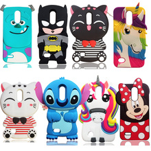 3D Cartoon Lucky Cat Soft Silicone Cover For LG K10 2017 case phone Back Case Skin Funda