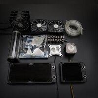 Syscooling жидкость охлаждения красочные система управления с высокая производительность водяного насоса и 240 мм радиатор